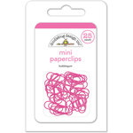 Doodlebug Design - Mini Paperclips - Bubblegum