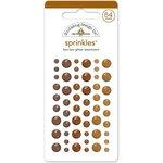 Doodlebug Design - Glitter Sprinkles - Self Adhesive Enamel Dots - Bon Bon