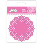Doodlebug Designs - Paper Doilies - Mini - Bubblegum