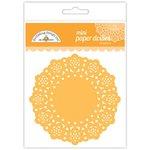 Doodlebug Designs - Paper Doilies - Mini - Tangerine