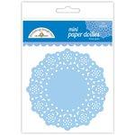 Doodlebug Design - Paper Doilies - Mini - Blue Jean