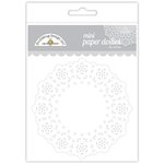Doodlebug Designs - Paper Doilies - Mini - Lily White