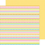 Doodlebug Design - Hello Sunshine Collection - 12 x 12 Double Sided Paper - Springtime Trimmings