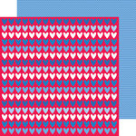 Doodlebug Design - Patriotic Picnic Collection - 12 x 12 Double Sided Paper - Land that I Love