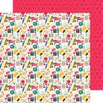 Doodlebug Design - Back to School Collection - 12 x 12 Double Sided Paper - School Days