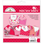 Doodlebug Design - Lovebugs Collection - Mini Love Letters Craft Kit