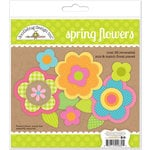 Doodlebug Design - Hello Sunshine Collection - Spring Flowers Craft Kit