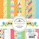 Doodlebug Design - Sun kissed Collection - 6 x 6 Paper Pad