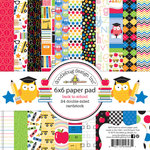 Doodlebug Design - Back to School Collection - 6 x 6 Paper Pad