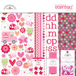 Doodlebug Design - Lovebugs Collection - Essentials Kit