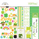 Doodlebug Design - Happy-Go-Lucky Collection - Essentials Kit