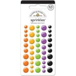 Doodlebug Design - October 31st Collection - Halloween - Sprinkles - Self Adhesive Enamel Dots - Halloween Assortment