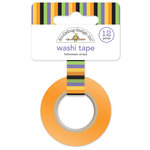 Doodlebug Design - October 31st Collection - Halloween - Washi Tape - Halloween Stripe