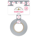 Doodlebug Design - Home Run Collection - Washi Tape - Baseball