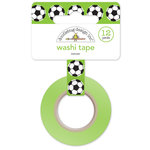 Doodlebug Design - Goal Collection - Washi Tape - Soccer