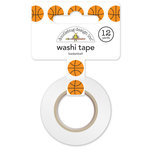Doodlebug Design - Slam Dunk Collection - Washi Tape - Basketball