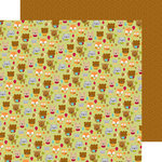 Doodlebug Design - Fall Friends Collection - 12 x 12 Double Sided Paper - Sweater Weather