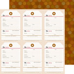 Doodlebug Design - Fall Friends Collection - 12 x 12 Double Sided Paper - Shades of Autumn