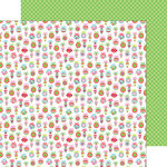 Doodlebug Design - Sugarplums Collection - Christmas - 12 x 12 Double Sided Paper - Tiny Trimmings