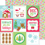 Doodlebug Design - Sugarplums Collection - Christmas - 12 x 12 Double Sided Paper - Christmas Magic