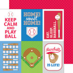 Doodlebug Design - Home Run Collection - 12 x 12 Double Sided Paper - All Stars