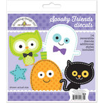 Doodlebug Design - October 31st Collection - Halloween - Die Cuts Craft Kit - Spooky Friends