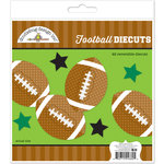 Doodlebug Design - Touchdown Collection - Die Cuts Craft Kits - Football