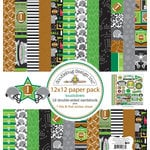 Doodlebug Design - Touchdown Collection - 12 x 12 Paper Pack