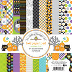 Doodlebug Design - October 31st Collection - Halloween - 6 x 6 Paper Pad