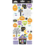 Doodlebug Design - October 31st Collection - Halloween - Cardstock Stickers - Icons