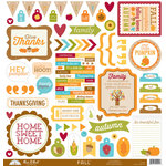 Doodlebug Design - Fall Friends Collection - 12 x 12 Cardstock Stickers - This and That