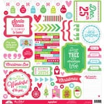 Doodlebug Design - Sugarplums Collection - Christmas - 12 x 12 Cardstock Stickers - This and That