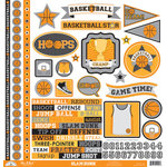 Doodlebug Design - Slam Dunk Collection - 12 x 12 Cardstock Stickers - This and That
