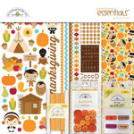 Doodlebug Design - Fall Friends Collection - Essentials Kit - Give Thanks