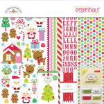 Doodlebug Design - Sugarplums Collection - Christmas - Essentials Kit