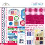 Doodlebug Design - Home Run Collection - Essentials Kit