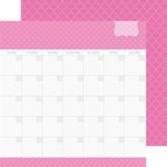 Doodlebug Design - Daily Doodles Collection - 12 x 12 Double Sided Paper - Bubblegum