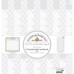 Doodlebug Design - Daily Doodles Collection - 12 x 12 Assortment Pack - Lily White