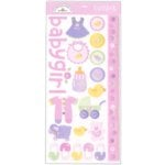 Doodlebug Design - Cardstock Stickers - Baby Girl