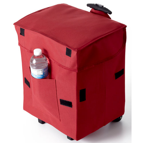 DBest Products - Bigger Smart Cart - Rolling Tote - Red