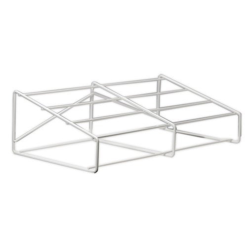 Display Dynamics - 12x12 Stacking Tray Base - Angled - Double Tower - Wire