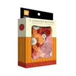 Daisy D's Paper Company - Tiny Treasures Assorted Buttons - Warm Me Up, CLEARANCE