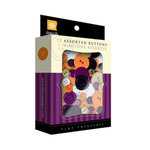 Daisy D's Paper Company - Halloween Collection - Tiny Treasures Assorted Buttons - Treat Me