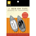 Daisy D's Paper Company - Rub On Tape - Straight Stitch