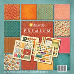 Daisy D's Paper Company - Autumn Collection - 8x8 Premium Paper Collection - Series 1