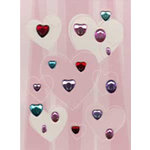 Daisy D's Paper Company - Valentine's Day Collection - All That Glitters Rhinestones - Maybe Baby