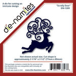 Die-Namites - Christmas - Die - Scrolly Deer