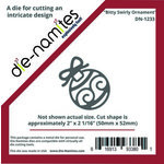 Die-Namites - Christmas - Die - Bitty Swirly Ornament
