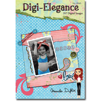 Design Originals - Digi-Elegance - 357 Digital Images - Tim Holtz