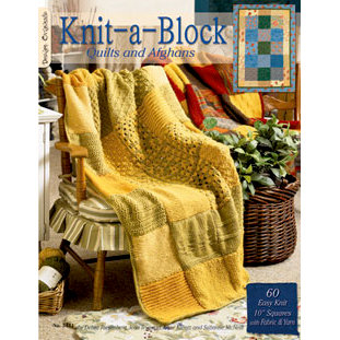 Design Originals - Knit-a-Block Quilts and Afghans